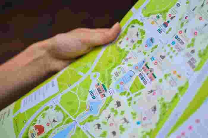 熊本の観光マップは、先程ご紹介した観光案内所でも配布していますが、以下のサイトからもダウンロードすることができますよ。