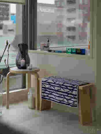 アートになる佇まいだから、昼間のお部屋に置いてもおしゃれです。光の当たる窓際が良いスポットになりそう。