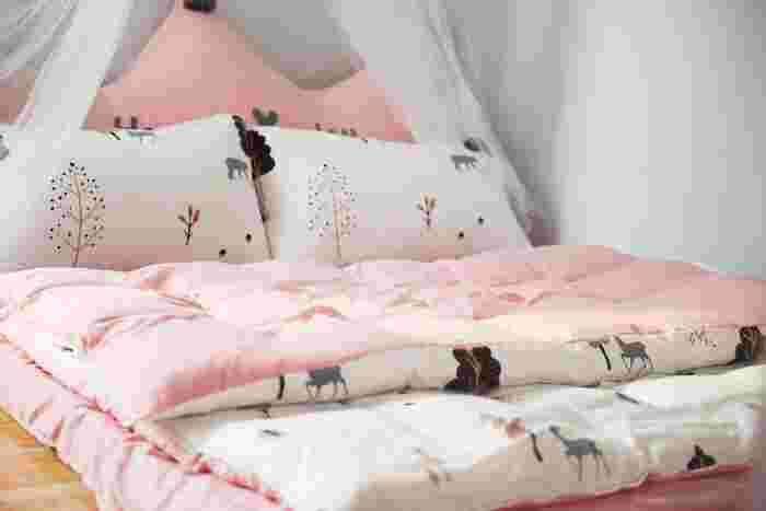 大掃除以外で気分を一新するなら、寝具を新調するのもおすすめです。新しいシーツや布団で気持ちよく新年を迎えてみてはいかがでしょう。