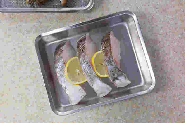 食材の下味をつけたり、 切った野菜を入れたり、  使いやすいパッドがあれば、 手際よく料理ができて楽しい。