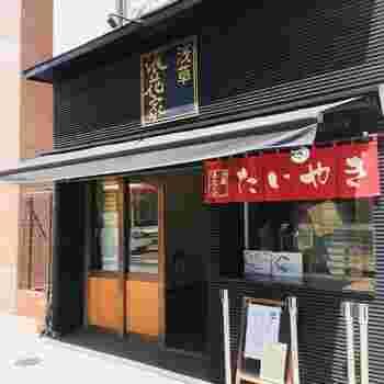 東武浅草駅から国際通り沿いを歩き、浅草ビューホテルに向かいにある「浅草浪花家」。  創業明治42年の老舗、麻布十番の浪花家総本店から暖簾分けしたお店で、2010年にオープンしました。たいやきで有名なお店ですが、夏の時期はかき氷がおいしいと評判です。