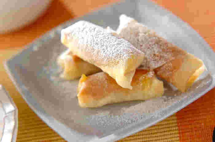 ピーナッツバターとバナナは最高の組み合わせです。あつあつとろとろをいただきたいですね。