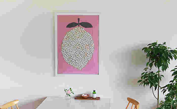 お気に入りのポスターをお好きな壁に飾るだけで、雰囲気のあるおしゃれなお部屋が完成します。
