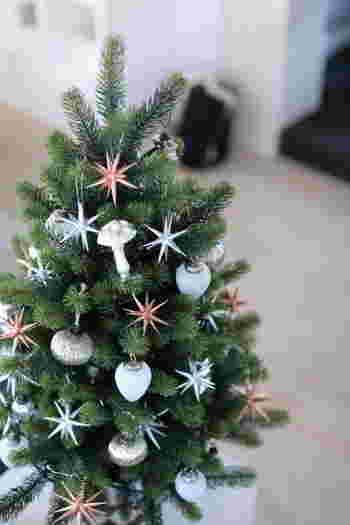ここからは、クリスマスの素敵なインテリア風景をご紹介したいと思います。クリスマスに向けて、インテリアの参考にしてみて下さいね♪