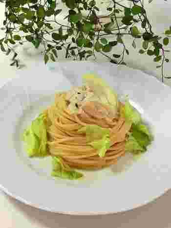 ツナマヨとレモン醤油が絶妙に美味しい! 使っている野菜は玉ねぎとレタスだけなので、家にある食材で出来るのも魅力です。