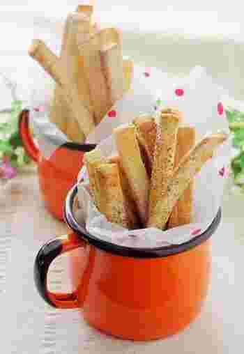 カロリーが気になる方には、トースターで揚げずにすぐ出来る簡単レシピも♪コーヒーとスキムミルクの味付けもポイントです。