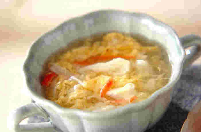 実はいろんな味がある!どんな食事にも合う「卵スープ」の人気レシピ大集合