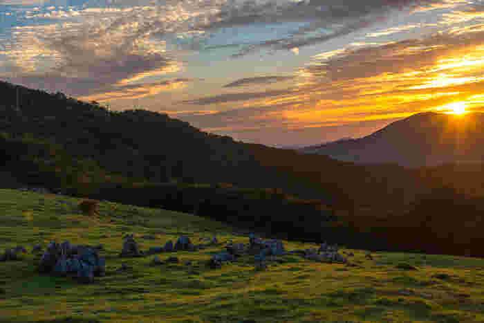 高い山なみから、深い渓谷まで、さまざまな絶景が存在する【四国】。 四国ならではのだるま夕日、鳴門の渦潮など、ここでしか見られない絶景もあります。 少し足を伸ばして、四国の自然を満喫して体をいたわってみてはいかがでしょうか?