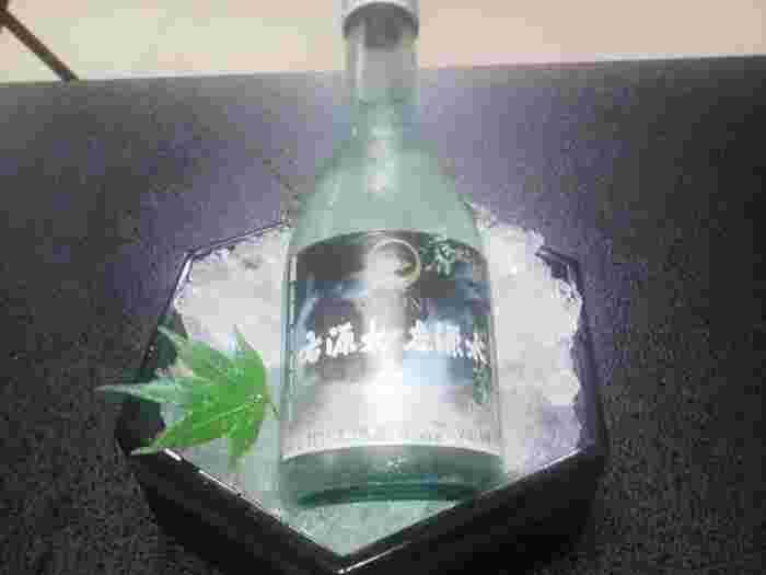 オリジナルの日本酒も。水の都として知られる伏見(京都)で作られています。