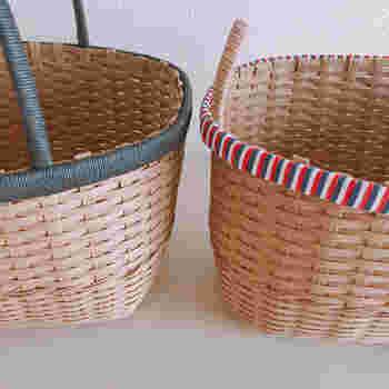 かごバッグや小物を手作り!「クラフトバンド」の編み方&作品集