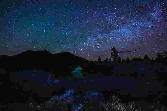 夜になると、ピークディストリクト国立公園内では満天の星々が煌めき、夜空はまるでプラネタリウムのようになります。光り輝く宝石のような星々があまりに大きく見えるので、手を延ばすと星に手が届くような錯覚さえも感じます。