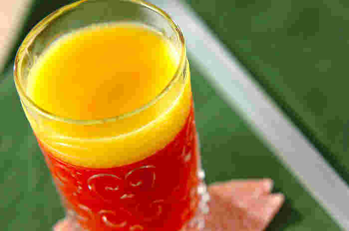 苦手なトマトもオレンジジュースと一緒だったら食べられるかも!?