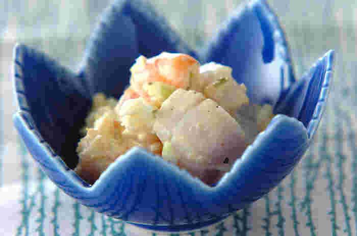 魚介のうまみがたっぷり詰まった一品。ちょっとお洒落な小鉢などに盛り付ければ、お洒落な前菜の出来上がり!