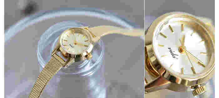 アンティーク時計の魅力を日本に伝えようと、1981年に生まれた時計ブランド「VIDA+」。それぞれのパーツは、アンティーク時計の魅力を研究された末につくられています。
