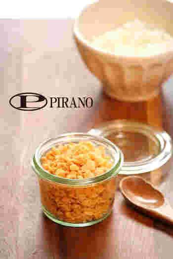 生姜やすりごまの風味が効いたしゃけのそぼろ♪常備しておくととっても便利ですよ。