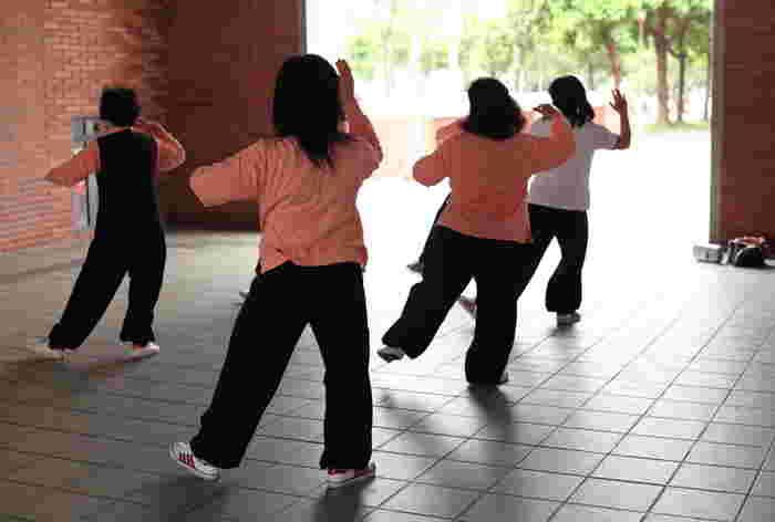 太極拳は、誰にでも挑戦しやすく効果の高い健康法。ゆったりと自分のペースで自然に行えるので、やっている間も、終わった後も気持ちがいい運動なんです。
