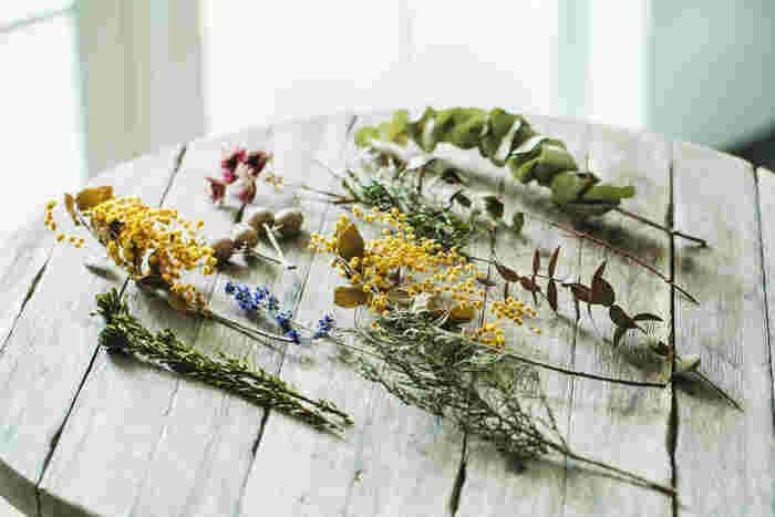 ドライフラワーでも、鮮やかなイエローの鈴なりの小花が魅力のミモザ。桜同様に、近年では春を象徴する花として人気ですね。ミモザのイエローからパワーをもらえるようなレシピをご紹介します。