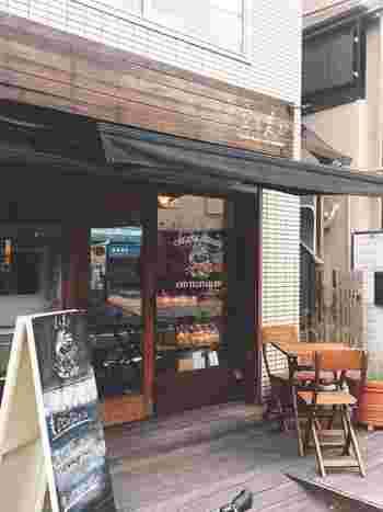 「空と麦と」は、シニフィアン シニフィエのシェフがプロデュースしたパンを購入できるベーカリー&カフェ。