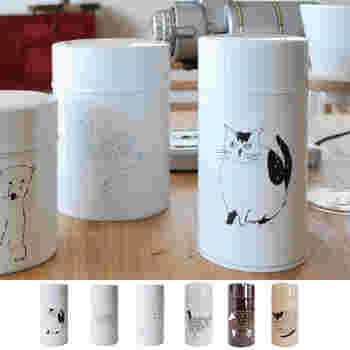 こちらも加藤製作所とのコラボ缶。松尾ミユキさんとのゆるかわなイラストが描かれたこちらのコーヒー缶も人気なんです。