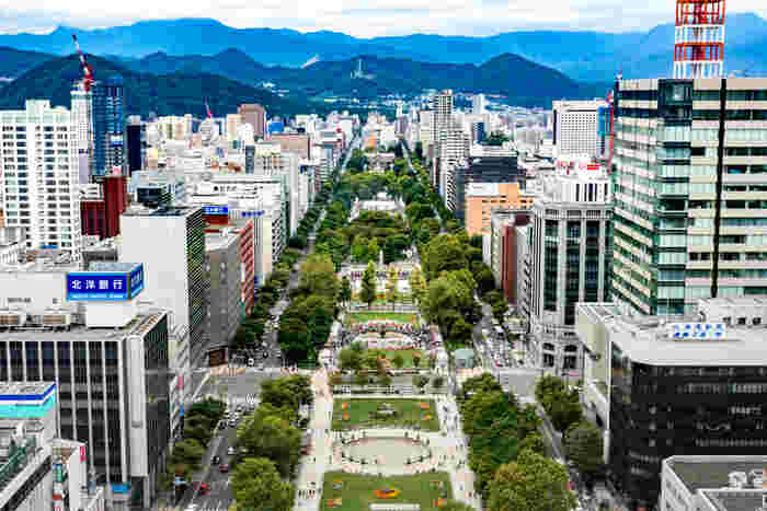 札幌市は北海道の政令指定都市です。人口は約196万人と、国内で第5位になるほどの日本を代表する都市と言っても過言ではありません。 政治・経済・文化・芸術など、多くの分野で北海道の中心と言われており、海外から訪れる観光客も年々増え続けています。