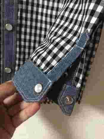 パチンととめる、凹凸で一組のボタンを「スナップボタン」といいます。引っ掛けるボタンよりも簡単にとめられるので、小さいお子さんの服やエプロンなどを手作りする時にも活躍するボタンです◎覚えておくと重宝するので是非マスターしましょう♪
