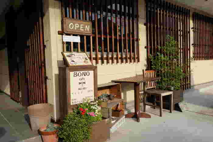 お米、野菜、卵、果物。食材のほとんど全てが茨木産。地産地消にこだわった自然食カフェ『ボノ カフェ』。「へぇ、茨木ってそんなに農作物作ってたんや!知らんかった」と思う方も、ボノ カフェならではのほっこりする美味しい味わいの食事を食べに行ってみませんか?