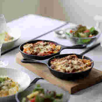 もっと活用しよう。じっくり美味しさ引き出す「スキレット」の〈おかず系レシピ〉