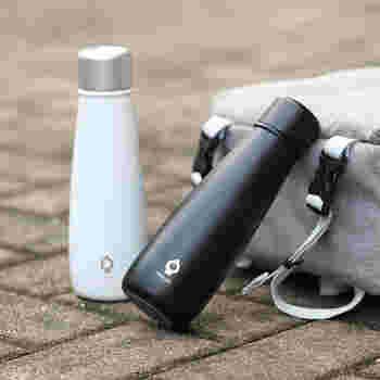 ドイツ生まれのマグボトル「SGUAI(スグアイ)」は、飲み物の温度表示をしてくれるとっても便利なボトルです。