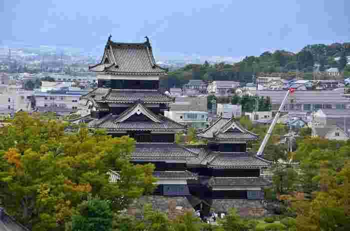 長野県の中信地方に位置する松本市は、松本城の旧城下町として知られています。 アルプスをのぞむ美しい自然、戦災を免れたことで守られた風情ある街並みは、古くから多くの人々に愛されてきました。