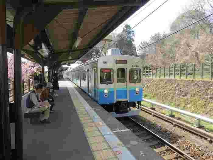 門脇吊り橋への最寄り駅は伊豆急行城ケ崎駅です。徒歩では駅から25分ほどかかるので、タクシーの利用もアリかも。バスは伊豆急行線伊豆高原駅と伊東線伊東駅から出ています。城ケ崎駅からはバスで10分、伊東駅からは40分程かかります。車の場合は伊東市門脇駐車場が最寄りの駐車場です。