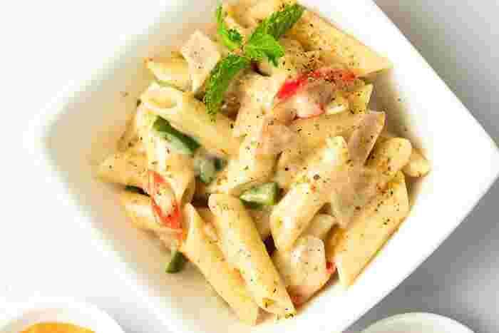 """マカロ二のおいしい3変化♪献立に合わせた""""サラダ・スープ・グラタン""""レシピ"""