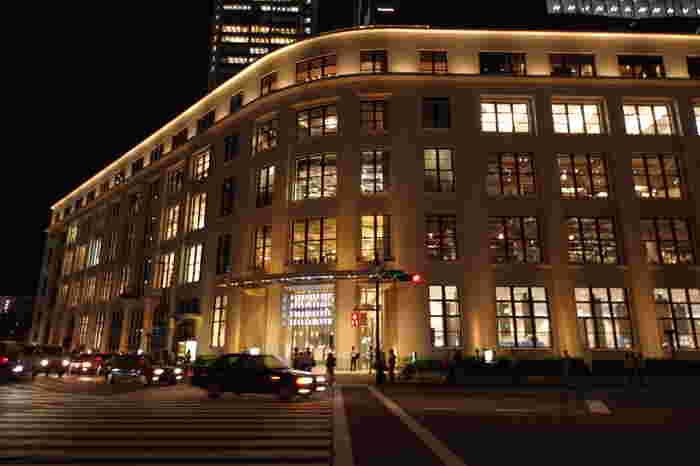 東京中央郵便局がある複合施設「KITTE」
