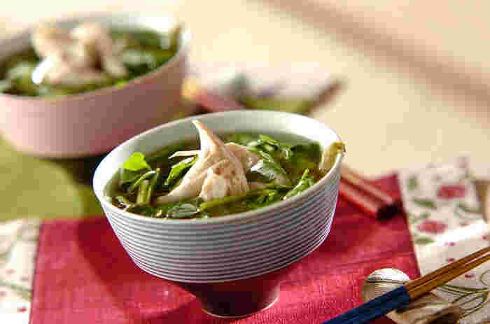ワンボウルでさらっと食べやすい♪時短&栄養豊富な「スープかけご飯」のレシピ