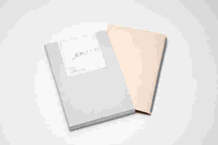 シンプルで飾り気のないパッケージです。いつも裏紙を使っている人にプレゼントするのもいいかも。