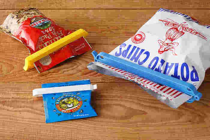 5cmから22cmまでの豊富なサイズから、用途に合わせて選ぶことができます。水が入った袋も完全密封できるほどの圧倒的な密封力が自慢で、-20℃の冷凍庫でも使える高い機能性や耐久性を持ち合わせています。食べかけの湿気りやすいお菓子もこれなら安心ですね。