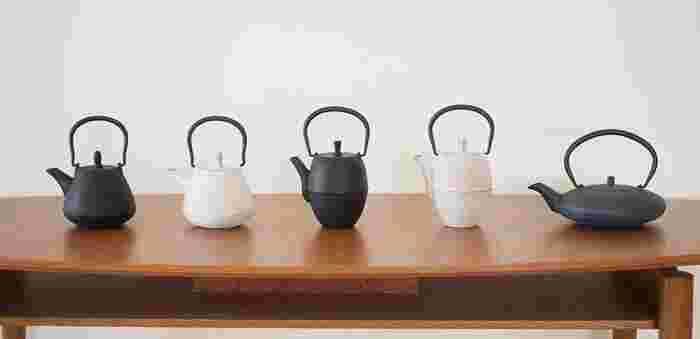 南部鉄器といえば、鉄瓶のイメージが強いかもしれませんが、じつは他にもさまざまなアイテムがあります。