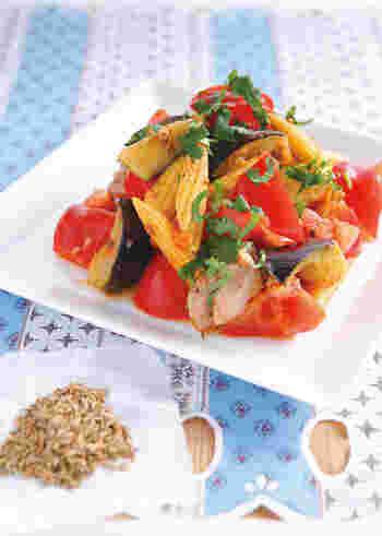 今回は、トマト・ゴーヤ・とうもろこし・オクラ・ズッキーニ・ナスなど、旬の『夏野菜』を使った夏の献立レシピをご紹介します。
