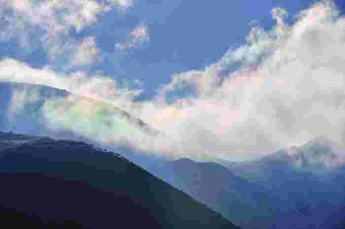 山と比較すればそのスケールの大きさに驚きます。