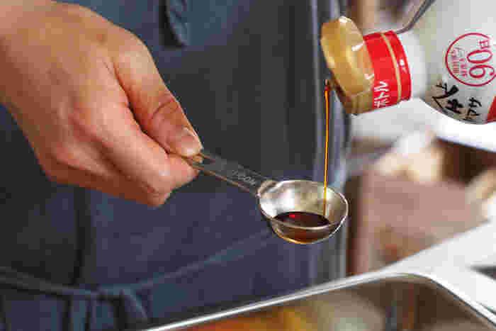 スプーンの部分は深みがあって量りやすい。ちょっとくらい揺れても、こぼれたりしないのが頼もしいアイテムです。