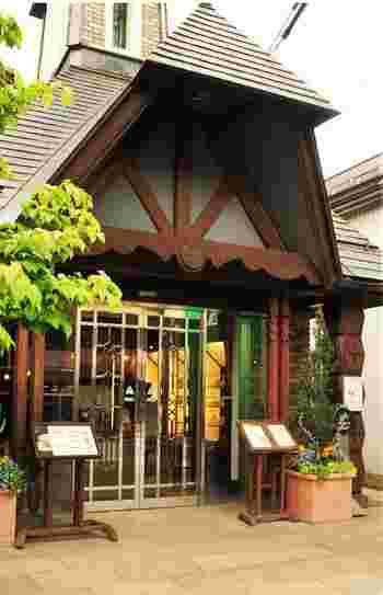 『桜井甘精堂』が母体の洋菓子喫茶です。