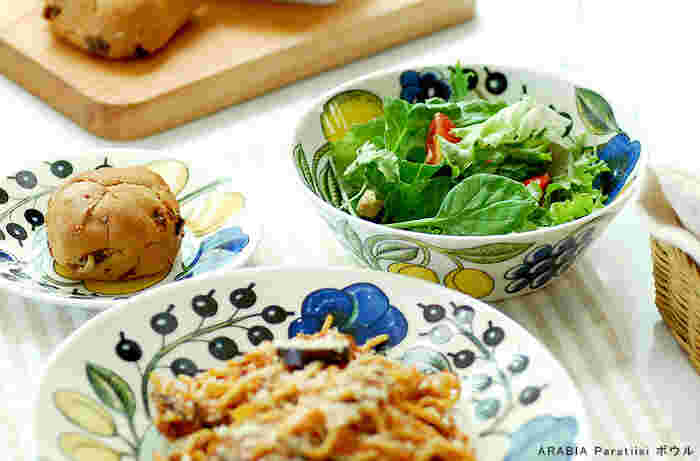 スープはもちろん、サラダ、ミューズリー、意外なところで和食の煮ものも魅力的に見せてくれます。