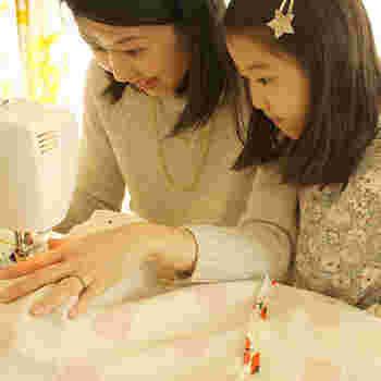 手芸を通して親子の繋がりや、温もりもっと充実させることができるきっかけを与えてくれるお店です。自分の子はもちろんのこと、姪っ子や友人の子供などプレゼントするのにも素敵ですね。