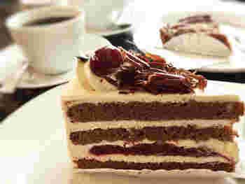 スイーツもまた、美味しそう!ケーキをはじめ、アップルパイやタルトなどをいただけます。鎌倉観光とともに、ドイツにも想いを馳せる、特別な1日を過ごせそうです。