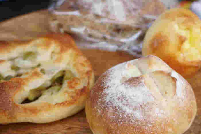 毎日食べても飽きない。優しい味わいのパンが楽しめるオススメのパン屋さんです。