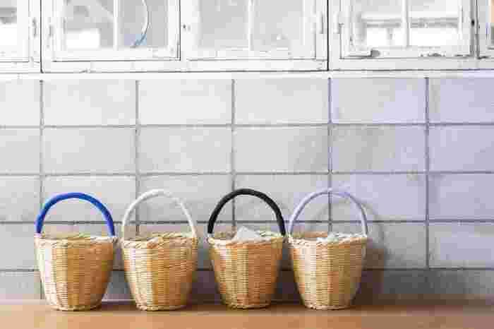 家中でもっと使える!生活感をステキに隠す「かご使い」の収納アイデア
