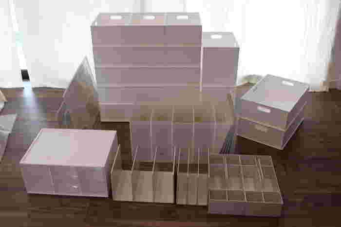 モノと場所に合わせて使いこなす。散らからない「ボックス」収納アイデア