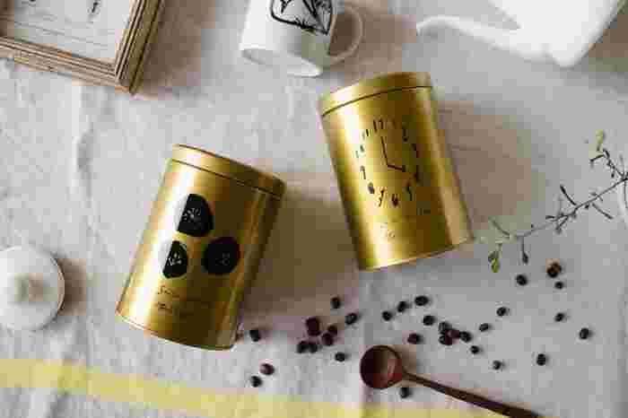 コーヒー専門店ならではの上質で奥深い味わいのコーヒーが缶入りで登場。コーヒー専用缶なのでしっかりと保存できそう。