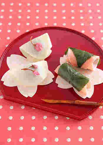 見れば和菓子が食べたくなるかも!?今回は、季節を感じる「春の和菓子」についてご紹介していきたいと思います。