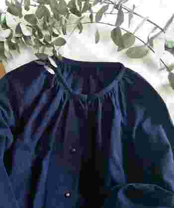 上質な素材が体をふんわり包んでくれそうな空気感の漂うブランド「Lin francais d'antan(ラン フランセ ダンタン)」