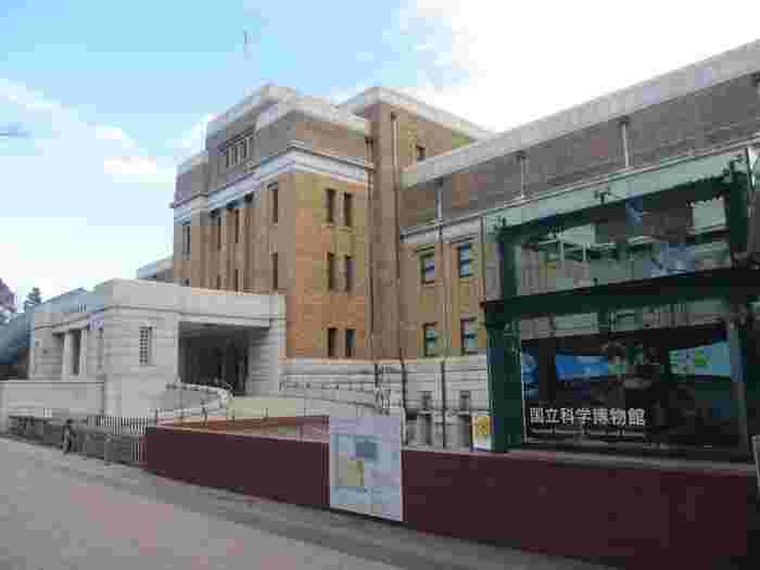 JR上野駅の公園口から歩いて約5分のところにある国立科学博物館は、日本で最も歴史のある博物館。国内で唯一の国立総合科学博物館でもあることから、連日多くの方が訪れています。  子どもの頃はゆっくり見る機会がなかったという方は、大人になった今こそ訪れてみては?